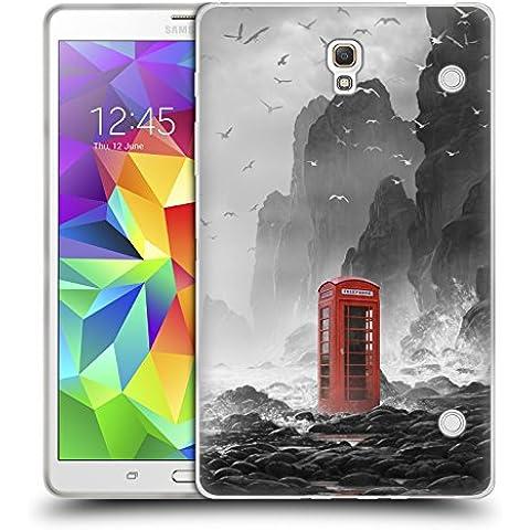 Ufficiale Daniel Conway Cabina telefonica Scene Surreali Cover Morbida In Gel Per Samsung Galaxy Tab S 8.4