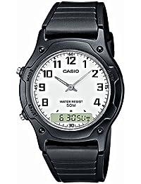 Casio Collection Reloj Analógico/Digital de Cuarzo para Hombre con Correa de Resina – AW-49H-7BVEF