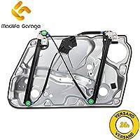 Madlife Garage Elevalunas eléctrico 3B1837461, sin Motor eléctrico, con Placas de Metal Delanteras Izquierda