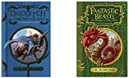 Quidditch Through The Ages + Fantastic Beasts And Where To Find Them (Set of 2 Books)