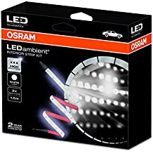 OSRAM LEDambient PULSE CONNECT INTERIOR: LED, Innenraumbeleuchtung, Bluetooth Ambient Lighting, PKW, App-gesteuert, 2 Jahre OSRAM Garantie*, 1 komplettes Set