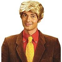 NET TOYS Uomo parrucca bionda per carnevale e feste in maschera finti  capelli biondi fashion 8c7c9ad8f6e0