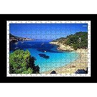 Puzzle Style (preensamblado) Impresión de la pared de Ibiza by Lisa Loft