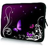 Pedea Design Tablet PC Tasche 10,1 Zoll (25,6 cm) neopren purple butterfly - gut und günstig