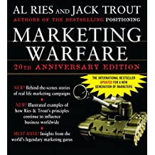 Marketing Warfare: 20th Anniversary Edition: Authors' Annotated Edition by Al Ries (1-Dec-2005) Hardcover