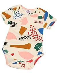 koly Niñas bebés impresión algodón Leopard Romper Jumpsuit