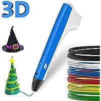 3D Pen Kinder etwas Kritzeln 3D Ausdruck Pen Bleistift Drucker Intelligente PCL PLA Filament Ersatzminen Beste Geschenk für Jugendliche und Kinder