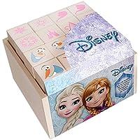 Multiprint Frozen - Juegos de Sellos para niños (Multicolor, Caucho, Madera, 3 año(s), Italia, 70 mm, 70 mm)
