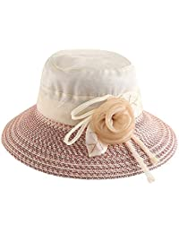 Sombrero - Visera de Verano para Mujer Visera al Aire Libre Protección UV  Sombrero para el e0fba940febd