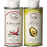 La Tourangelle Il Piccante Pizza Öl & Avocado Öl Set, 2 x 250ml
