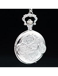5 : New Fashion IC XC NI KA Badge Quartz Pocket Watch Designer Watches Men Watch Women Analog Pendant Necklace...