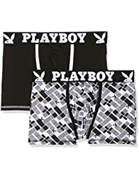 Playboy Men's Classic Cool Hipsters Pack of 2