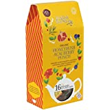 English Tea Shop - Honeybush Acai Berry Punch - 16 Pyramid Tea Infusers - 32g (Case of 6)