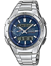 Casio Wave Ceptor – Herren-Armbanduhr mit Analog/Digital-Display und Massives Edelstahlarmband – WVA-M650D-2AER