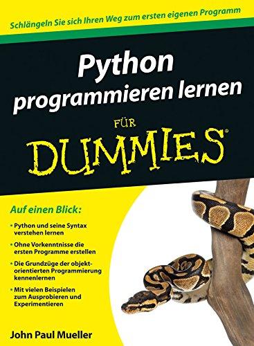 Free Python Programmieren Lernen Fur Dummies German Edition Pdf