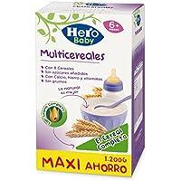 Hero Baby Natur Multicereales, Estuche de Papilla - 1200 g
