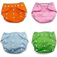 jillban pannolino Cover Set di 4pezzi riutilizzabile