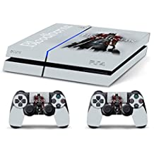 Skin PS4 WhiteP HD BLOODBORNE WHITE - limited edition DECAL COVER ADHESIVO playstation 4 SONY BUNDLE