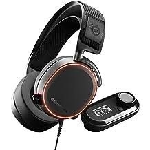 SteelSeries Arctis Pro GameDAC - Cuffie da Gioco - Audio ad Alta Risoluzione Certificato - ESS Sabre DAC