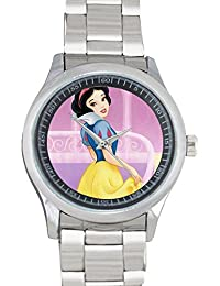 Adjusted popular cartoon little mermaid princess, Sleeping Beauty, Snow White, Cinderella, Mulan metal watch