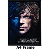 Happy GiftMart Game Of Thrones Tyrion Lannister Motivational Inspirational Quote Flaws Poster A4 Frame
