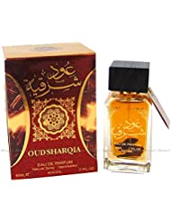 Al Zafraan OUDH Sharqia 80ml Eau Da Parfum Attar Arabian Perfume From UAE