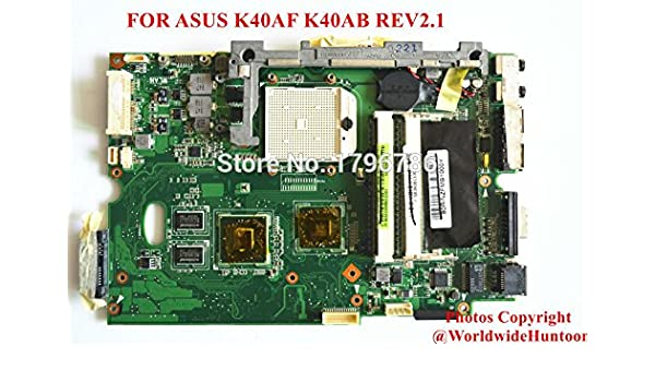 Asus K40AF Notebook Camera Windows Vista 32-BIT