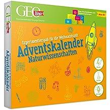 FRANZIS GEOlino Adventskalender 2020 | 24 spannende Experimente aus der Naturwissenschaft | Ab 8 Jahren: Experimentierspaß für die Weihnachtszeit
