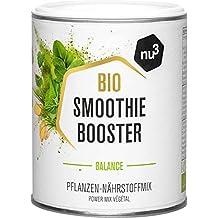 nu3 Smoothie Booster Balance – Regulación del metabolismo – 100g de mezcla orgánica vegetal en polvo