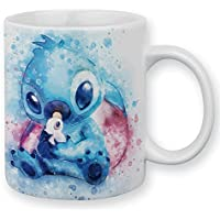 Mug Aquarelle Stitch kawaii et pastel - Chamalow shop