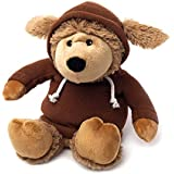 Warmies Cozy Plush Hoody Limited Edition Brown Sheep Microwaveable Soft Toy