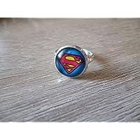 Bague - Cabochon 12 mm ø - Superman- star wars
