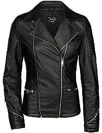 Suchergebnis auf Amazon.de für: bikerjacke damen: Bekleidung