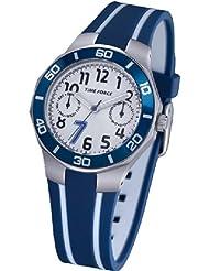 TIME FORCE Reloj De Pulsera Tf-3385B02 Acero 50M Cristiano Ronaldo AZUL