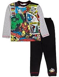Marvel Comics Pyjamas Boys Pyjama Set PJs Ages 4 To 12 Years
