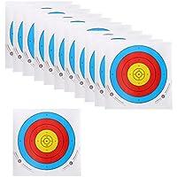 Baoblaze 12 Unidades de Papel Objetivo de Tiro con Archero Parte Reemplazable de Tiro con Archero