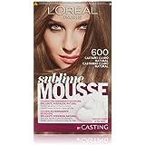 L'Oréal Paris Sublime Mousse Coloración Permanente, Tono: 600 Castaño Claro Natural - 200 g