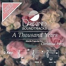 A Thousand Years [Accompaniment/Performance Track] (Daywind Soundtracks) by Christina Perri