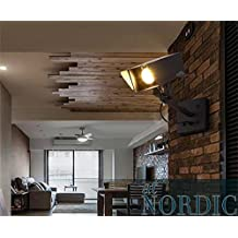Creative Light-American bar retro personalidad creativa lámparas de pared luz webcam