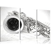 Sassofono carta carbone effetto disegno 3 pezzi