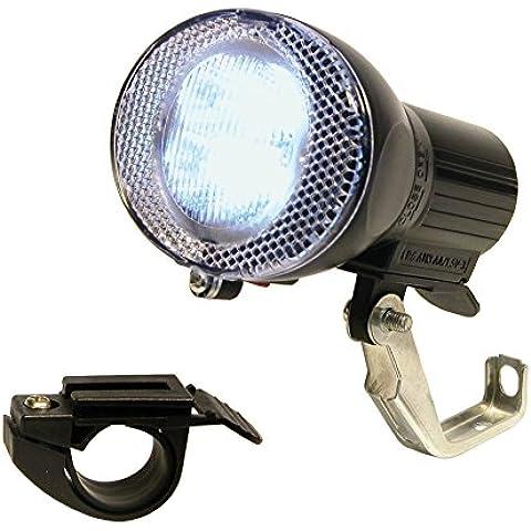 Dyto, Luce anteriore a 4 LED con 2 supporti di fissaggio