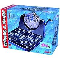 SIMBA - 106150493 - Juego de mesa - Bingo con tambores y accesorios - 30x23x18 cm (de importación de Alemania)