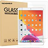 TECHSHIELD® Screen Protector Compatible with Apple iPad 10.2 (7th Generation, 2019 Released),Tempered Glass with [9H Hardness][iPad Pencil Compatible][Scratch-Resistant]-Apple iPad 10.2