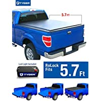 Tyger Auto TG-BC2D2064 RoLock Low Profile Roll-Up Truck Bed Tonneau Cover (For 2009-2016 Dodge Ram 5'7 Bed Only without Ram Box) by Tyger Auto