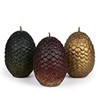 Game of Thrones Sculpted Dragon Egg Candles (Limited Edition)