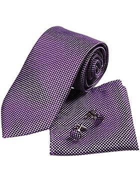 YA-BC-D.01 Fantastic Polka Dots legami di seta Signori cravatta da Y&G