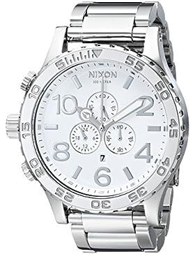 Nixon Herren-Armbanduhr Chronograph Edelstahl A083488-00