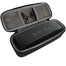 co2CREA EVA Viajar llevar Caja Bolsa Fundas Estuche Bag Case para Anker Stereo Portátiles Wireless Bluetooth 4.0 Speaker (A3143) y USB/Audio Cable