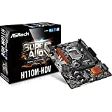 Image of Asrock H110M-HDV S1151 mATX Intel DDR4 retail Mainboard