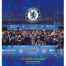 The Official Chelsea 2016 Desk Easel Calendar